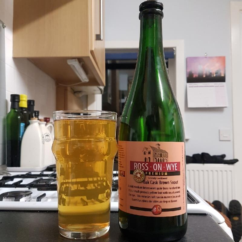 picture of Ross-on-Wye Cider & Perry Co Oak Cask Brown Snout submitted by BushWalker