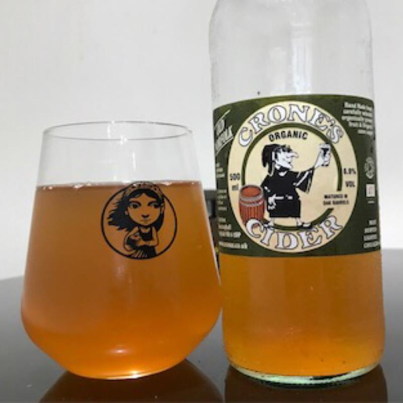 picture of Crone's Organic Cider Old Norfolk 2019 submitted by Judge