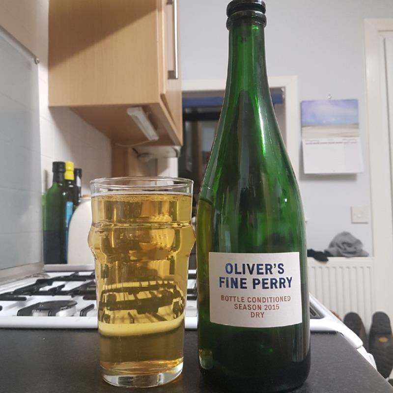 picture of Oliver's Cider and Perry Oliver's Fine Perry Dry 2015 submitted by BushWalker