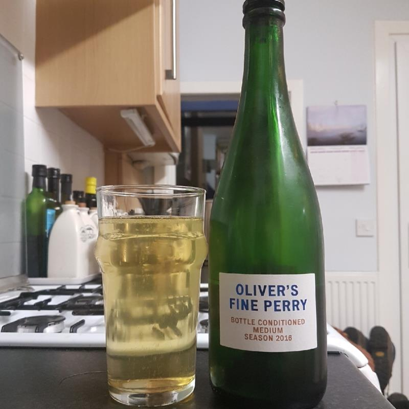 picture of Oliver's Cider and Perry Oliver's Fine Perry Medium 2016 submitted by BushWalker