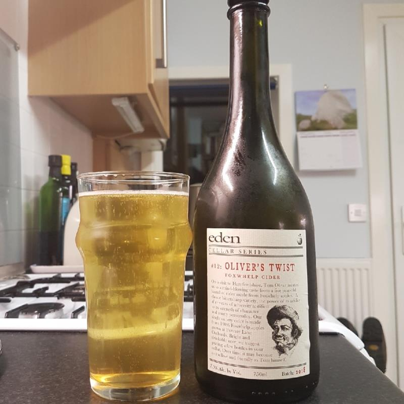 picture of Eden Cider Oliver's Twist (Cellar Series # 12) submitted by BushWalker