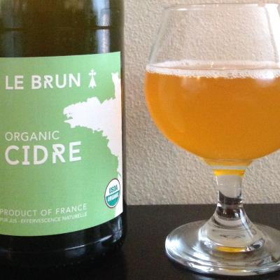 picture of Le Brun Organic Cidre submitted by cidersays
