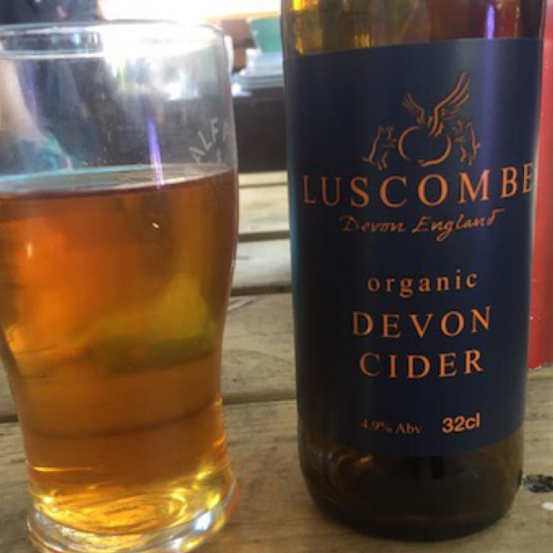 picture of Luscombe Organic Devon Cider submitted by david