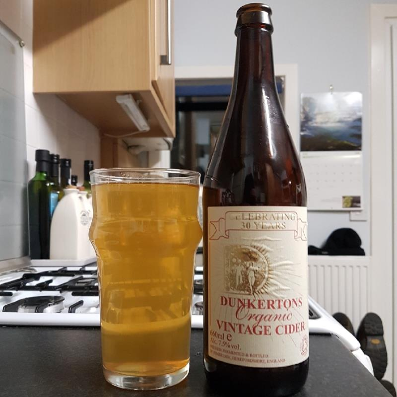 picture of Dunkertons Organic Cider Organic Vintage submitted by BushWalker