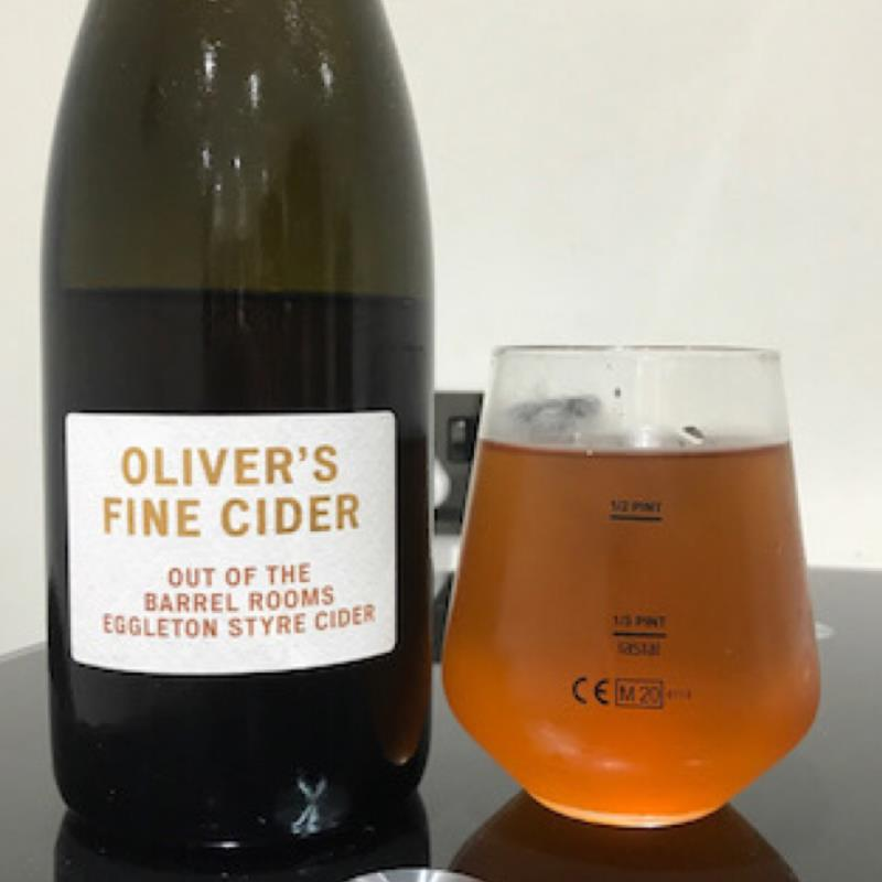 picture of Oliver's Cider and Perry Out of the Barrel Rooms Eggleton Styre Cider submitted by Judge