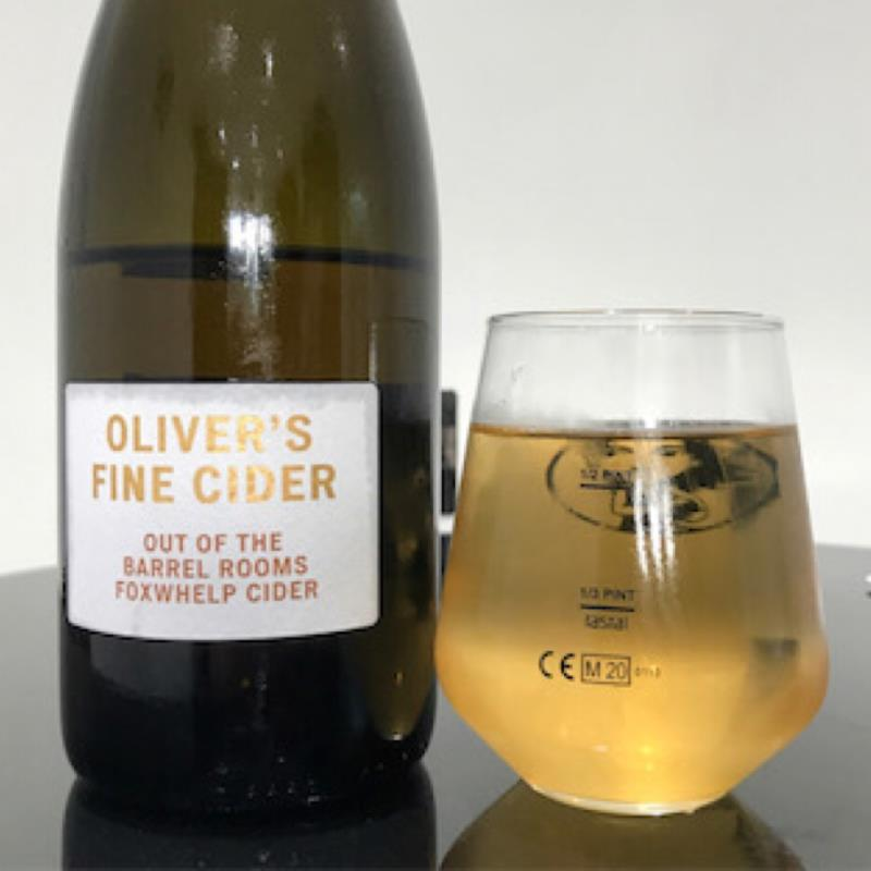 picture of Oliver's Cider and Perry Out of the Barrel Rooms Foxwhelp Cider submitted by Judge