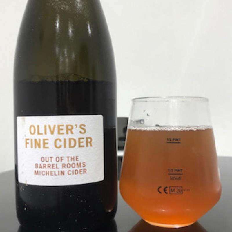 picture of Oliver's Cider and Perry Out of the Barrel Rooms Michelin Cider submitted by Judge