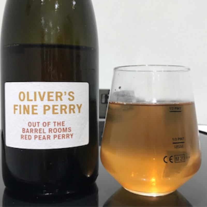 picture of Oliver's Cider and Perry Out of the Barrel Rooms Red Pear Perry submitted by Judge