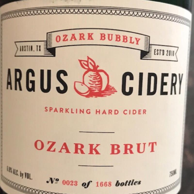 picture of Argus Cidery Ozark Brut submitted by KariB