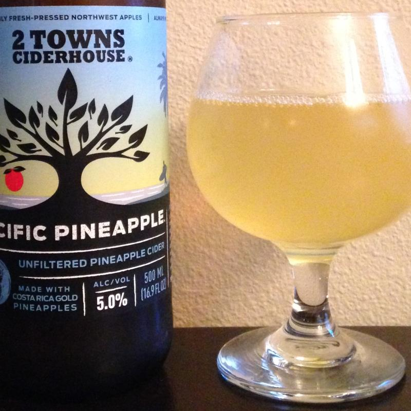 picture of 2 Towns Ciderhouse Pacific Pineapple submitted by cidersays