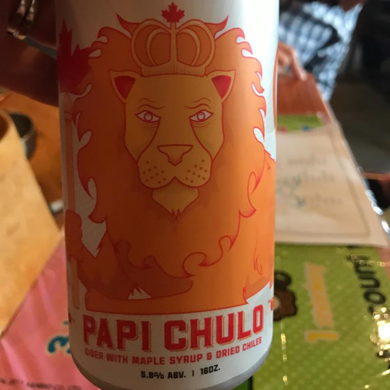 picture of Bantam Cider Papi Chulo submitted by Sarahb0620