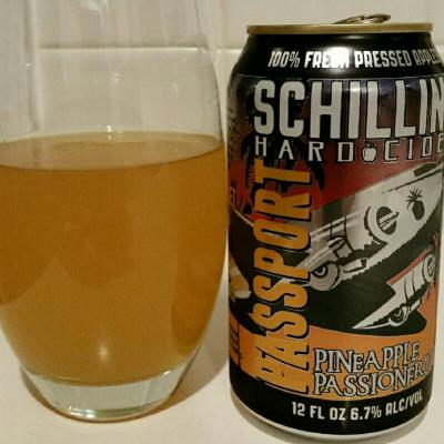 picture of Schilling Cider Passport Pineapple Passionfruit submitted by david