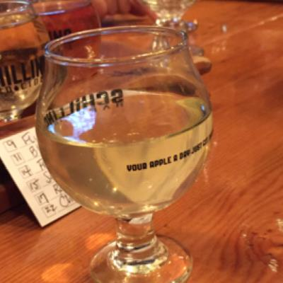 picture of 2 Towns Ciderhouse Peach Saison submitted by herharmony23