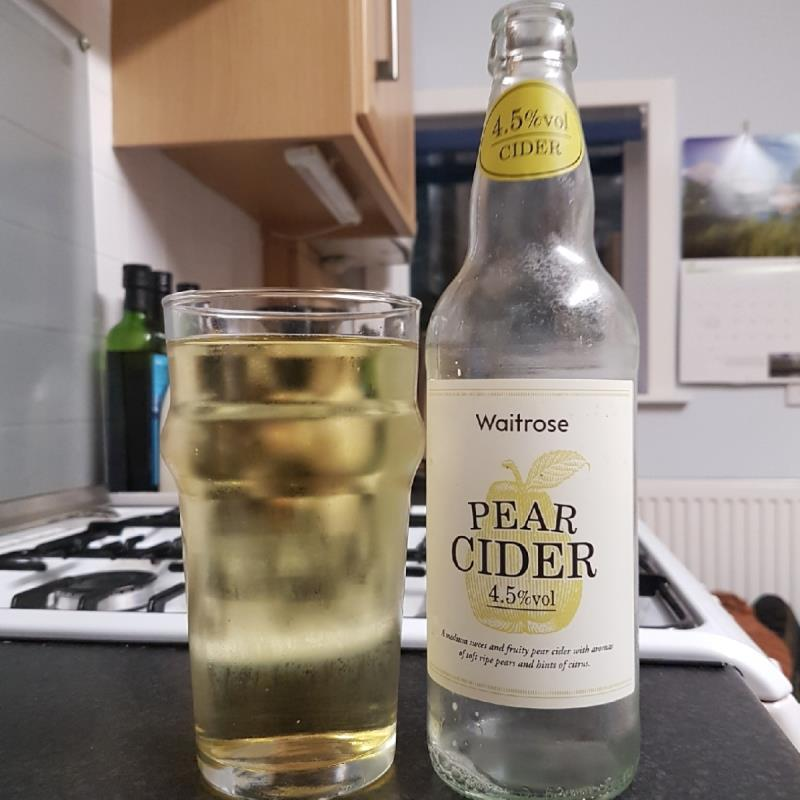 picture of Waitrose Farm Pear Cider submitted by BushWalker