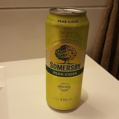 picture of Somersby Pear Cider submitted by Mekkern