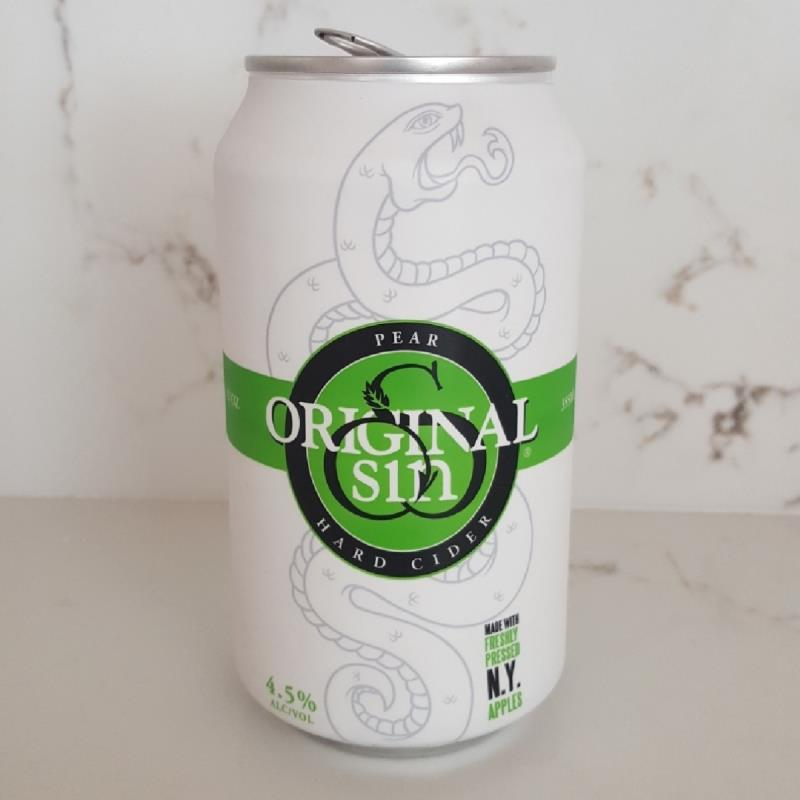 picture of Original Sin Craft Cider Pear Cider submitted by Dtheduck