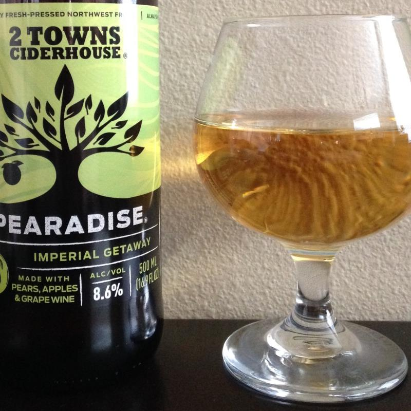 picture of 2 Towns Ciderhouse Pearadise submitted by cidersays