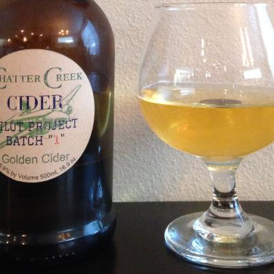 picture of Chatter Creek Pilot Project Batch 1 Golden Cider submitted by cidersays