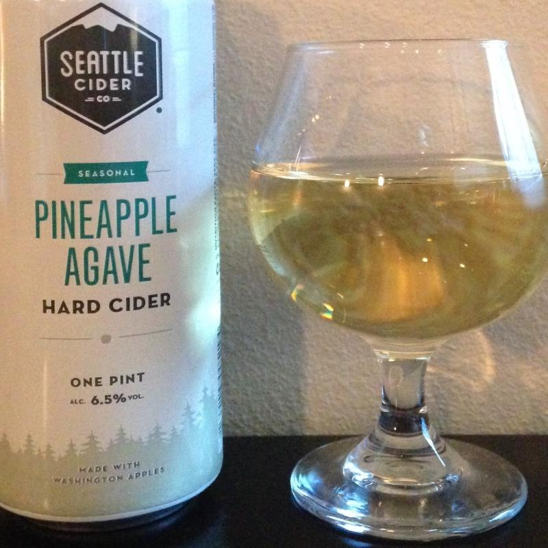 picture of Seattle Cider Pineapple Agave submitted by cidersays