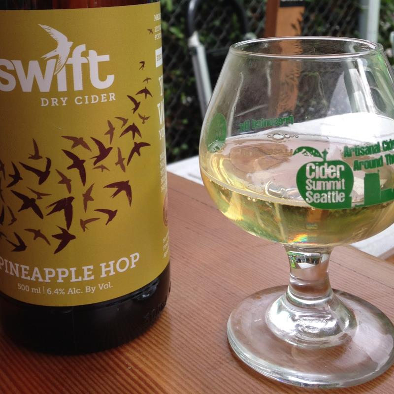 picture of Swift Cider Pineapple Hop submitted by cidersays