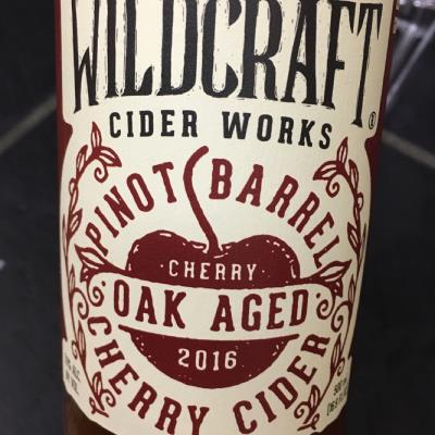 picture of Wildcraft Cider Works Pinot Barrel cherry cider submitted by CiderGirl3