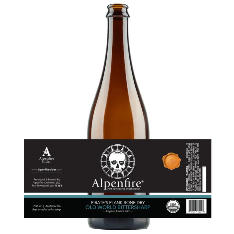 """picture of Alpenfire Cider Pirate's Plank """"Bone Dry"""" Cider submitted by KariB"""