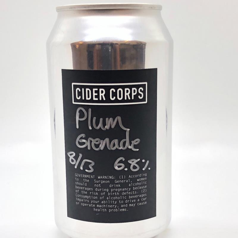 picture of Cider Corps Plum Grenade submitted by PricklyCider