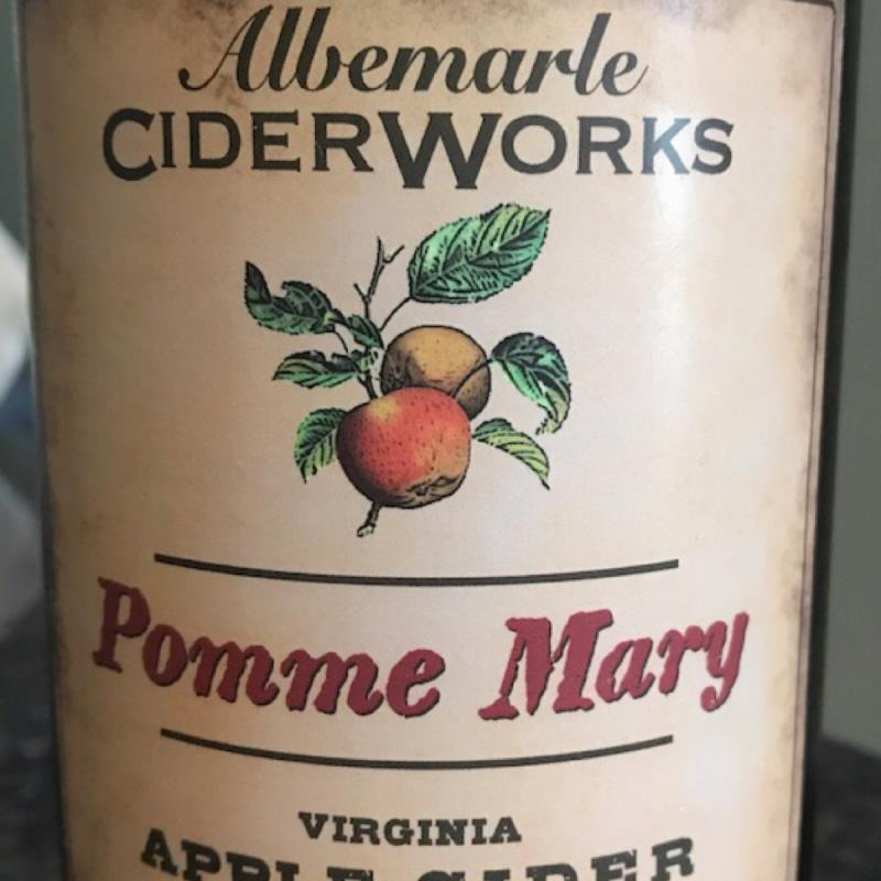 picture of Albemarle Ciderworks Pomme Mary submitted by KariB
