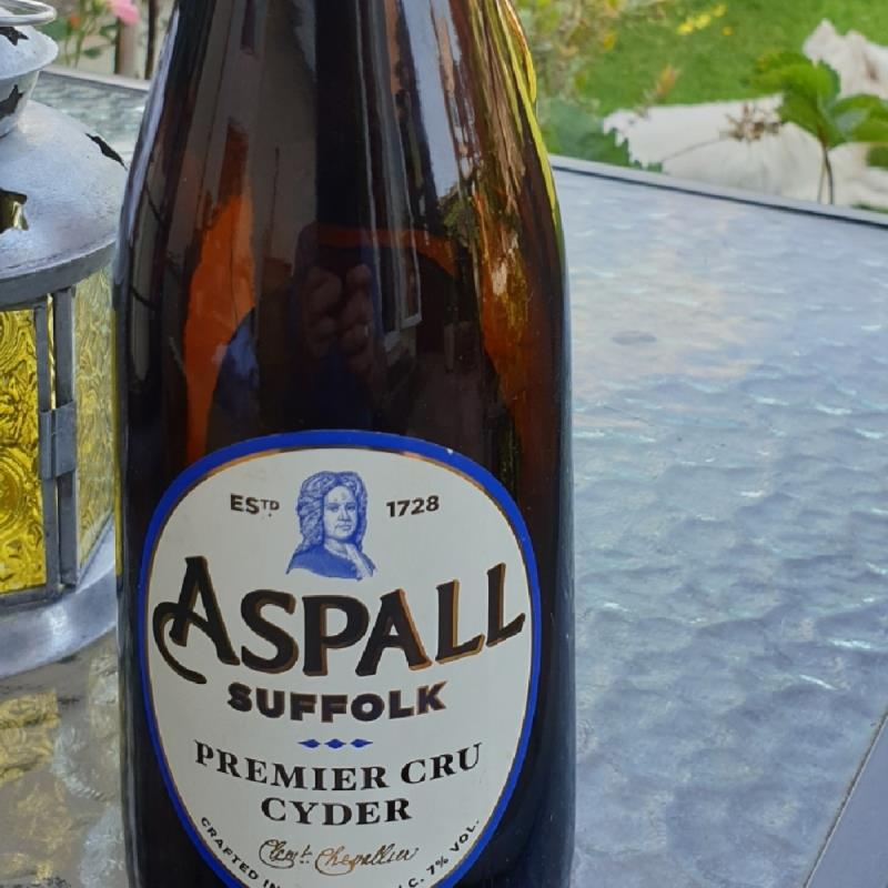 picture of Aspall premier cru cyder submitted by Ian