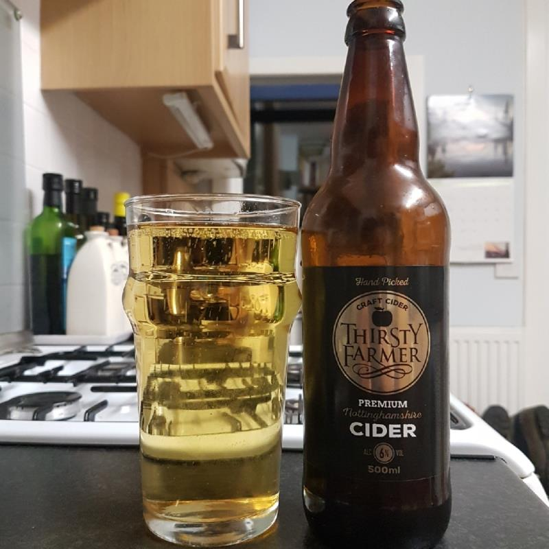 picture of Farmer Fear (Thirsty Farmer) Cider Premium submitted by BushWalker