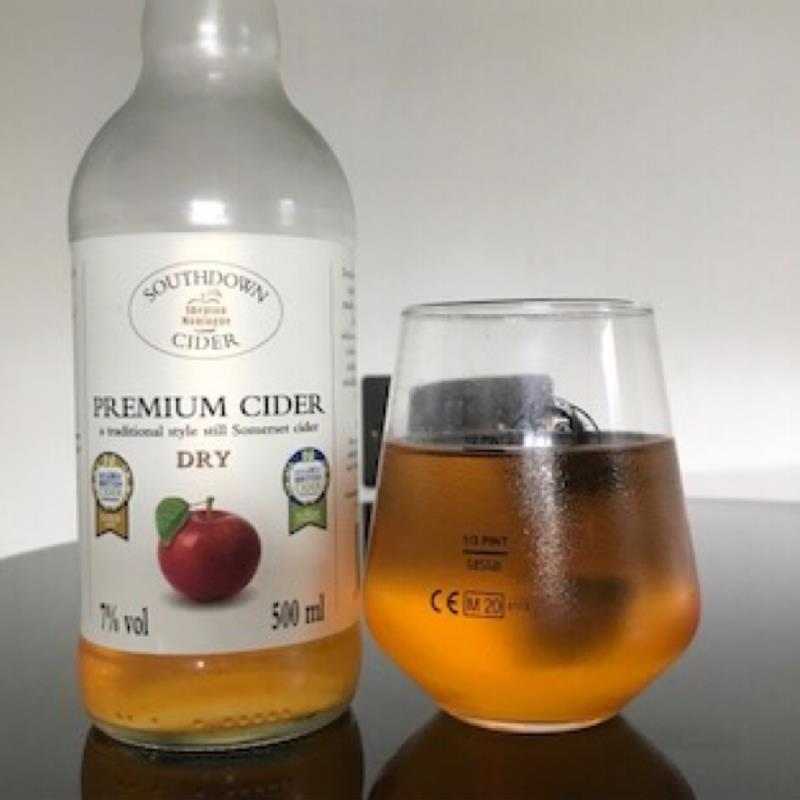 picture of Southdown Cider Premium Cider Dry submitted by Judge