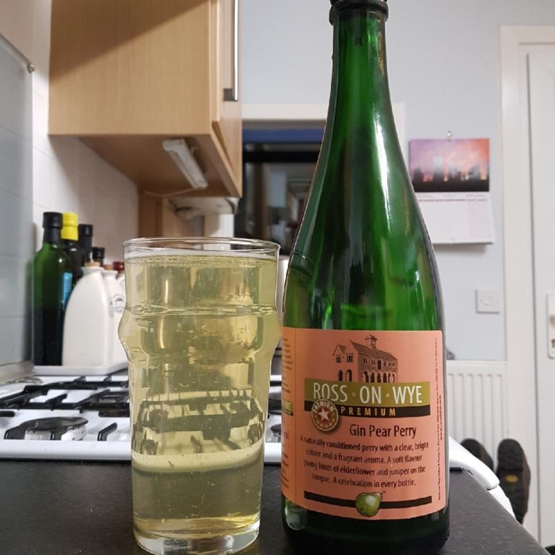 picture of Ross-on-Wye Cider & Perry Co Premium Gin Pear Perry submitted by BushWalker