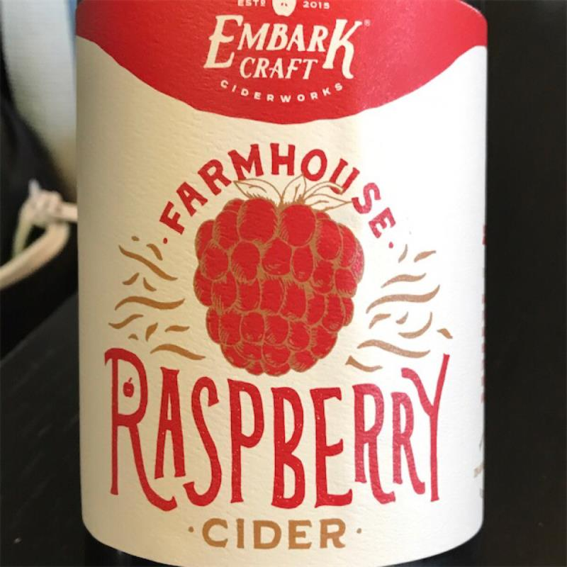 picture of Embark Craft Ciderworks Raspberry Cider submitted by KariB