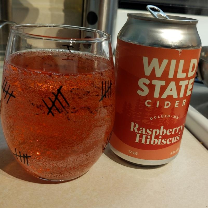 picture of wild State Cider Raspberry Hibiscus submitted by AmoraLynn