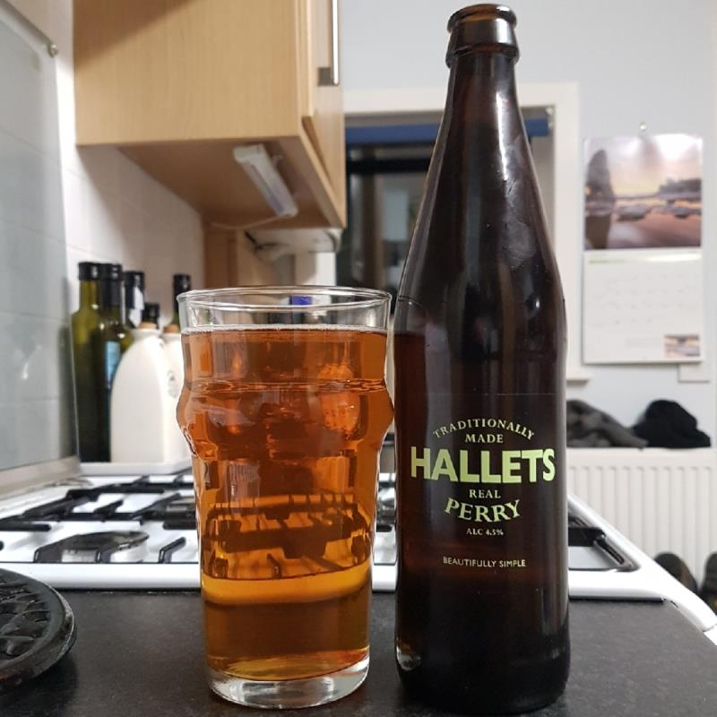 picture of Hallets Real Cider Real Perry submitted by BushWalker