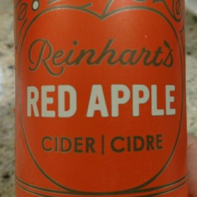 picture of Reinhart Foods Ltd. Reinhart's Red Apple Cider submitted by hmf213