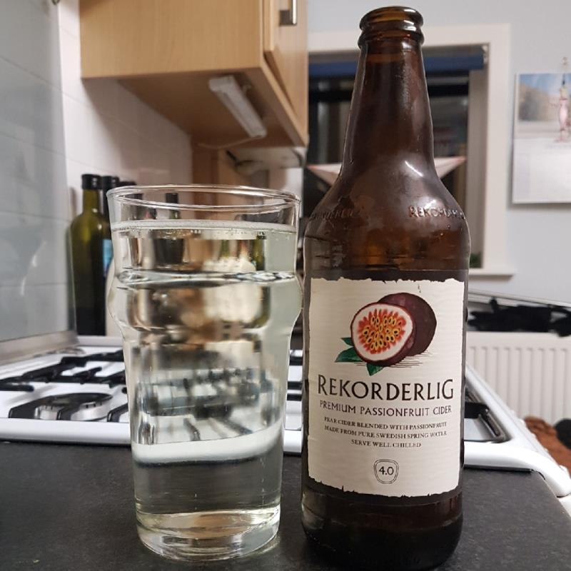 picture of Rekorderlig Swedish Cidery Rekorderlig Passionfruit submitted by BushWalker