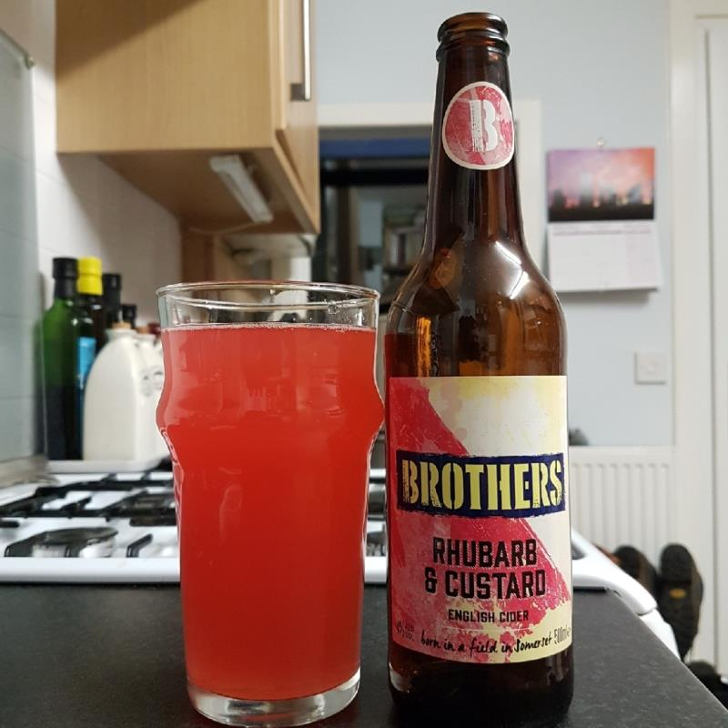 picture of Brothers Drinks Company Rhubarb & Custard submitted by BushWalker