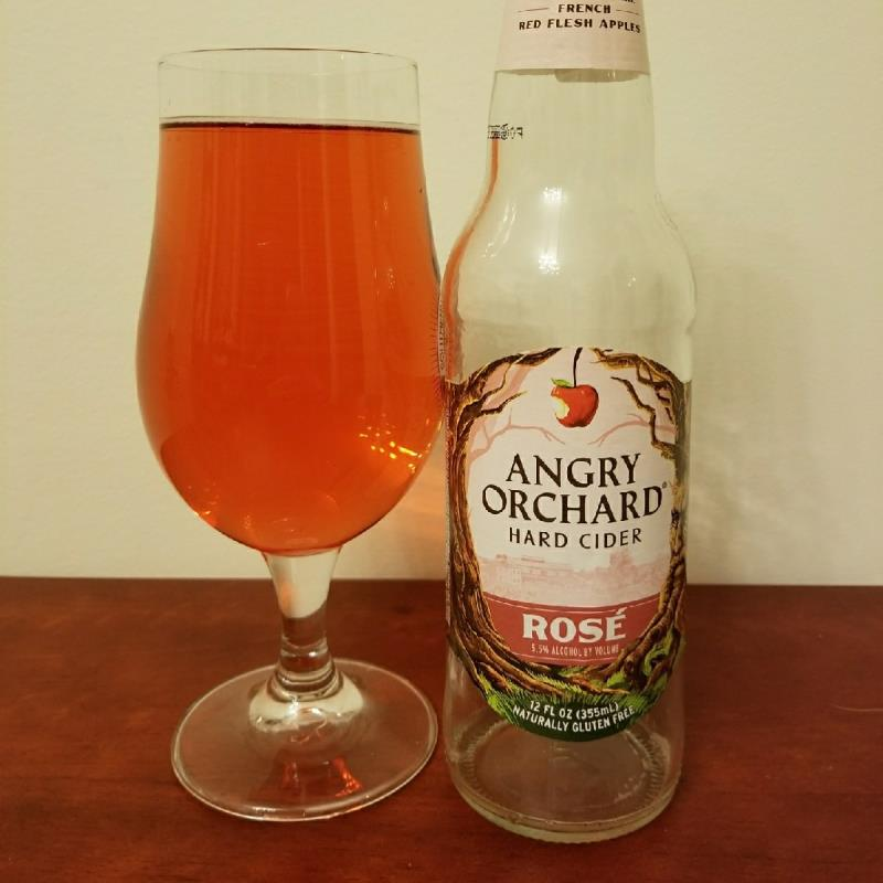 picture of Angry Orchard Rosé submitted by CiderTable