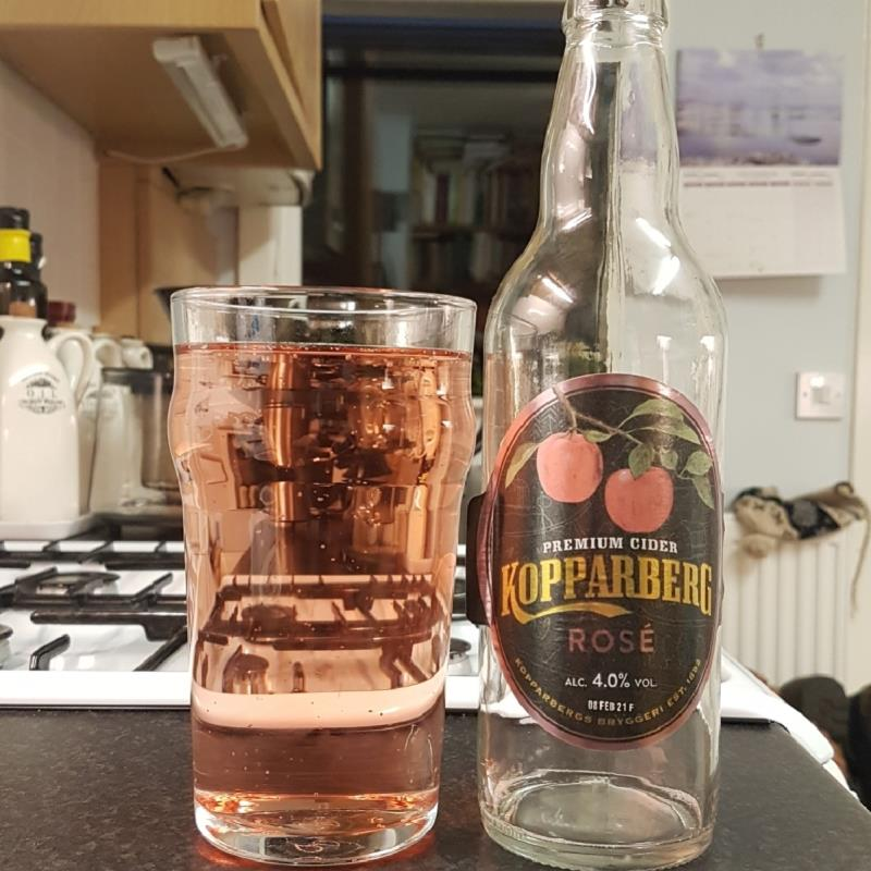 picture of Kopparberg Brewery Rose submitted by BushWalker