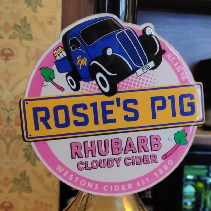 picture of Western Cider Company Rosi'e Pig Rubarb submitted by George05hill
