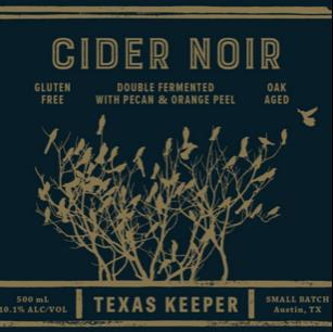 picture of Texas Keeper Cider Rum Barrel Aged Cider Noir submitted by KariB
