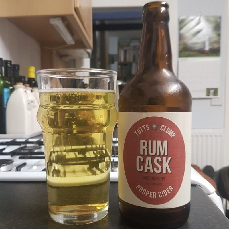 picture of Tutts Clump Rum Cask submitted by BushWalker