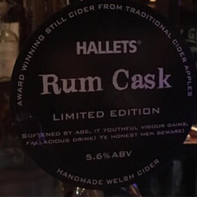 picture of Hallets Real Cider Rum Cask submitted by Judge