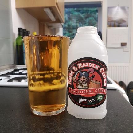 picture of Weymouth Cider Company Rum & Raisin submitted by BushWalker