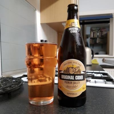 picture of Magners Cider Sainsbury's Irish Original Cider submitted by BushWalker