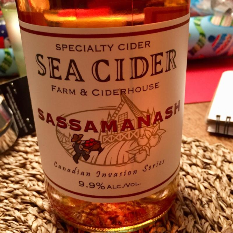 picture of Sea Cider Sassamanash submitted by herharmony23