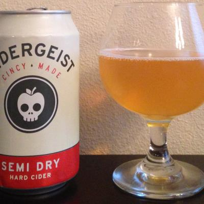 picture of Rhinegeist Cidergeist Semi Dry submitted by cidersays