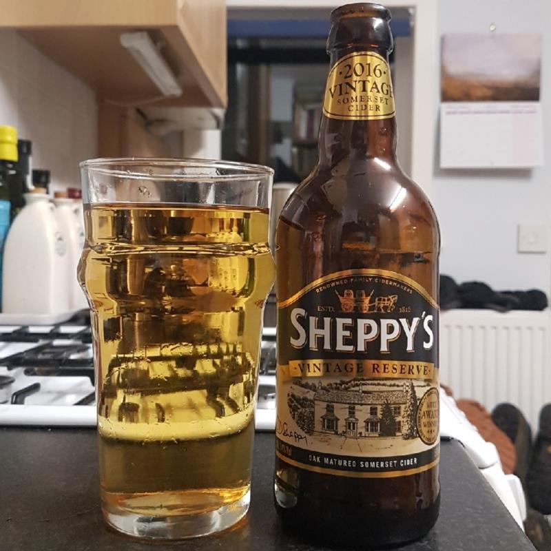 picture of Sheppy's Sheppy's Vintage Reserve Somerset Cider 2016 submitted by BushWalker
