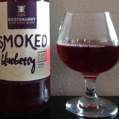 picture of Locust cider Smoked Blueberry submitted by cidersays